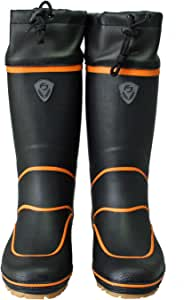 ファインジャパン(FINE JAPAN) SP-1095 ラジアルブーツ ブラック フィッシングブーツ 釣り用長靴