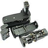 DSTE® プロ 互换 BG-E16 垂直 バッテリーグリップ + 2x LP-E6 のために Canon 7D Mark II カメラ