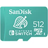 SanDisk microSDXC UHS-I Card for Nintendo Switch 512GB - Nintendo Licensed Product, Green (SDSQXAO-512G-GNCZN)