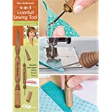 Alex Anderson's 4-in-1 Essential Sewing Tool: Includes Seam Ripper, Stiletto, Presser, Turner