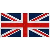 Large British Union Jack Embroidered Patch England Flag UK Great Britain Iron-On