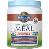 Garden of Life Raw Organic Meal Replacement Powder - Vanilla Chai, 14 Servings, 20g Plant Based Protein Powder, Superfoods, G