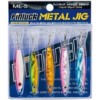 タクティクスエンジョイ(TACTICS ENJOY) ルアー メタルジグ 5本セット ME5