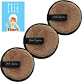 Dash Organics Reusable Makeup Remover Pads Eco-Friendly Alternative To Traditional Cotton Pads - Suitable For All Skin Types
