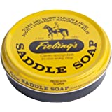 Fiebing's Unisex Fiebing'S Saddle Soap, 3.5 Oz. - Yellow - Cleans, Softens and Preserves Leather 088-20011, Yellow, 3.5 oz