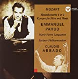 モーツァルト:フルートとハープのための協奏曲、フルート協奏曲第1番&第2番