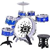 Keezi Kids Drum Set Pretend Play Toy Music Children Mini Big Band Jazz Musical
