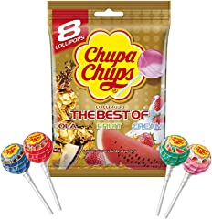 Chupa Chups The Best of Bag, 12g (Pack of 8)