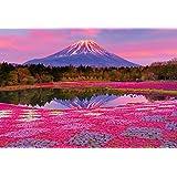 ビバリー 1000ピースジグソーパズル 夕陽に染まる富士 マイクロピース(26×38cm)