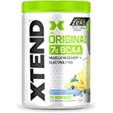 XTEND Natural Zero BCAA Powder Blueberry Lemonade | Free of Artificial Sweeteners, Flavors, and Chemical Dyes | Post Workout