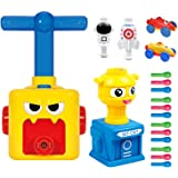 LiKee Balloon Launcher & Powered Car Toy Set Aerodynamic Cars Racers Party Supplies Preschool Educational Science Stem Toys w