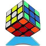 魔方 キューブ 3x3 4x4 5x5 6x6 7x7 Magic Cube 立体パズル 競技用キューブ ポップ防止 こども 脳トレ 室内遊び 室内ゲーム 回転スムーズ 世界基準配色 知育玩具 ブラック (魔方 3x3x3)