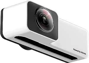 [国内正規品] KRAVAS 360°VIEW スマホレンズ 360度カメラ iPhoneにポンとのせるだけで全方位の撮影できるパノラマカメラ (iPhone 7/8 plus用)
