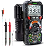 KAIWEETS Digital Multimeter TRMS 6000 Counts Ohmmeter Auto-Ranging Fast Accurately Measures Voltage Current Amp Resistance Di