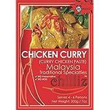 Chilliz Chicken Curry Paste 200 g, 200 g, Chicken Curry