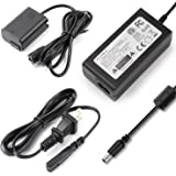 FIT-POWER AC-PW20 AC Power Adapter + PW20 DC Coupler ( Sony NP-FW50 Battery replacement ) for Sony NEX-5N NEX-5R NEX-5T NEX-6