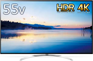 LG 55V型 液晶 テレビ 55SJ8500 4K HDR対応 4倍速相当 2017年モデル