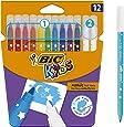 ビックキッズ カラーペン 中字 10色 消しペン2本付 BKCE12E