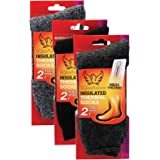 Set of 3 Thermal Socks for Women Heated Winter Socks for Cold Weather Protection Warm Insulated Socks for Winter