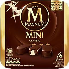 Magnum Mini Classic Multipack 6 x 45ml Ice Cream - Frozen, 270 ml