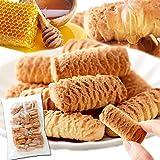 天然生活 はちみつクッキー 500g (約125g×4袋) お徳用 焼き菓子 国内製造 こども おやつ 蜂蜜 ハチミツ