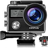 Campark X20C アクションカメラ 4K高画質 2000万画素 HDMI出力 40M防水 WiFi搭載 170度…