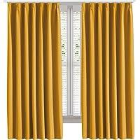 iselehome カーテン ドレープカーテン 遮光カーテン 防寒カーテン 断熱カーテン 一級遮光カーテン 形態安定加工…