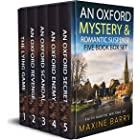 AN OXFORD MYSTERY & ROMANTIC SUSPENSE FIVE-BOOK BOX SET five utterly gripping page-turners (Totally Fabulous Mystery and Susp