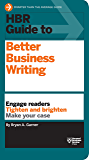HBR Guide to Better Business Writing (HBR Guide Series) (Eng…