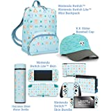 Controller Gear Official Nintendo Animal Crossing: New Horizons Gift Set - Mini Backpack, Switch Skins + Screen Protector, Sw