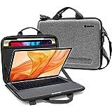 tomtoc 超薄ショルダーバッグ 13インチ MacBook Air 2020 M1-2018 / New MacBook Pro 13 2020 M1 - Late2016対応 ケース ノートパソコン ハードシェルケース PC周辺小物収納 11イ