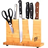 Home Kitchen Magnetic Knife Block Holder Rack Magnetic Stands with Strong Enhanced Magnets Multifunctional Storage Knife Hold