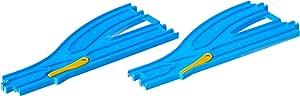 プラレール 単線・複線ポイントレール(各1本入) R-13
