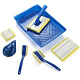 Paint pad Set,Corner Walls & Ceilings Pad Painter, 7-Inch,Painter¡¯s Pad Refills, Large Corner Edging Window,Trim and Touch-U