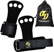 Nisrok Gymnastics Hand Grips, Crossfit Gloves Great for Pull Ups,Cross Training, Weightlfting,Powerlifting,Barbells,Kettlebel
