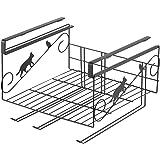 ヨシカワ 日本製 キッチンペーパーホルダー ブラック クロネコキッチン 幅29.5×奥行30×高さ21.2cm 1305716