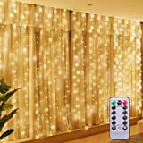 Twinkle String Lights with Remote Control Timer 300 Led USB Powered for Window Curtain Christmas Wedding Party Home Garden Be
