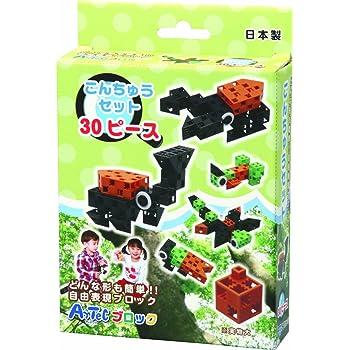 アーテック (Artec) アーテックブロック WORLDシリーズ こんちゅうセット 30ピース 076667