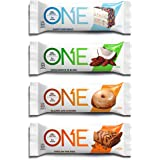 ONE Protein Bars, Best Sellers Variety Pack, Gluten Free 20g Protein and only 1g Sugar, Birthday Cake, Almond Bliss, Maple Gl