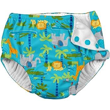 c0a42251a41cb アイプレイ ベビー 水着 スイムパンツ おむつ機能付き 水遊びパンツ Ruffle Snap Reusable Swimsuit Diaper