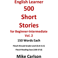 English Learner 500 Short Stories for Beginner-Intermediate…