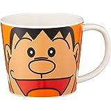 「 ドラえもん 」 ジャイアン フェイス マグカップ M オレンジ 009133