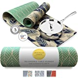 Reversible Heat Resistant Table Runner - Modern Table Runner and Trivet, Heat Proof to 350F, Kitchen and Dining Room Table Co