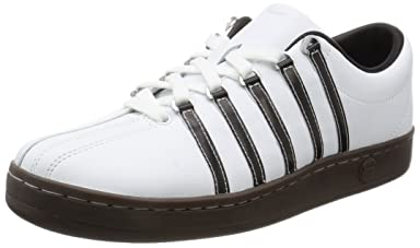 K-Swiss Classic 88 02248: White / Brown