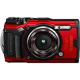 OLYMPUS デジタルカメラ Tough TG-6 レッド 1200万画素CMOS F2.0 15m 防水 100kgf耐荷重 GPS 内蔵Wi-Fi TG-6RED