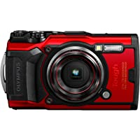 OLYMPUS Tough TG-6 Digital Camera, Red, 12 Million Pixels CMOS F2.0, 15M Waterproof,…