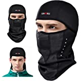 KINGBIKE Balaclava Ski Face Mask Windproof Men Women Thermal Fabric Breathable Design Cycling Skiing Winter Masks for Softbal