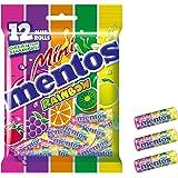 Mentos Mini Rainbow Bag, 12 Rolls, 120 g Total
