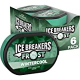 ICE BREAKERS Frost Sugar Free Mints, Wintercool, 1.2 Ounce (Pack of 6)
