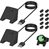 [2 Pack] Charger Cable for Garmin Vivoactive 3/Garmin Instinct Watch, 3.3FT USB Charging Cord Charger Dock for Garmin Vivoact